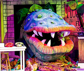 Little Shop of Horrors Props
